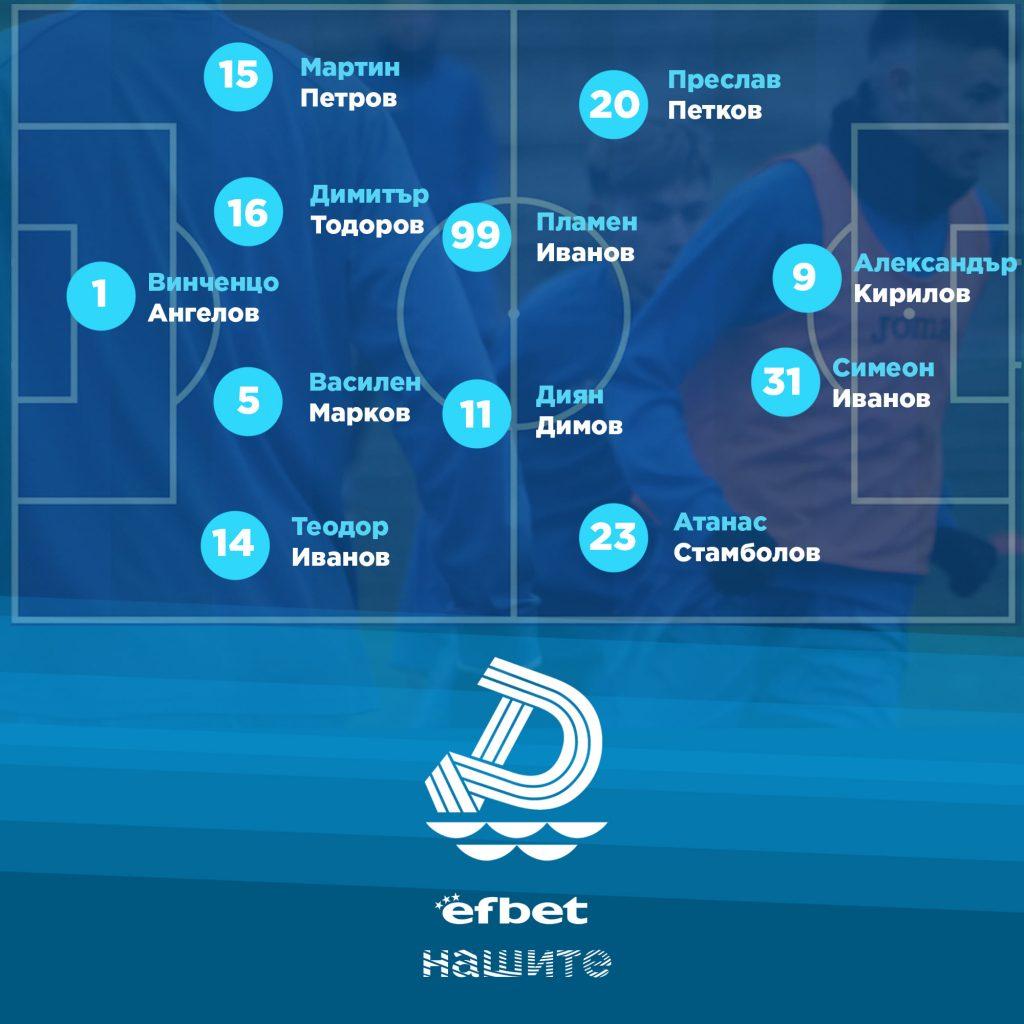 Контрола: Дунав загуби с 2:3 от Черноломец, след като водеше спокойно с 2:0 до 70-та минута