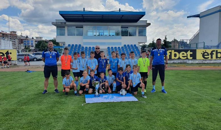 """U-10 станаха шампиони на големият международен турнир """"Utmost- Black Sea Cup Nesebar"""""""